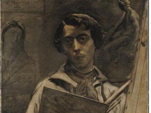 Autoretrato Théodore Chassériau.
