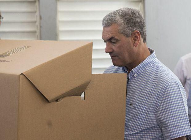 Gonzalo Castillo, ganador de las elecciones primarias.