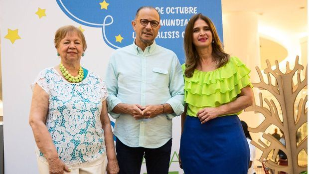 Olga García, José Antonio Rodríguez y Monika Despradel.