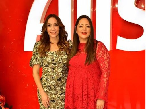 Miralba Ruíz y Sandra Infante.