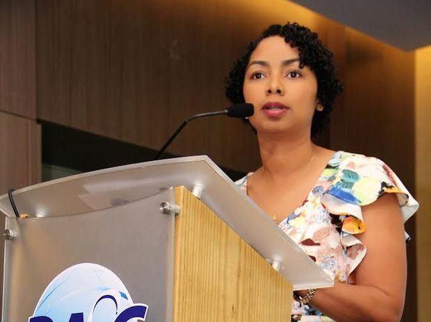 July de la Cruz, presidenta de BASC Dominicana.