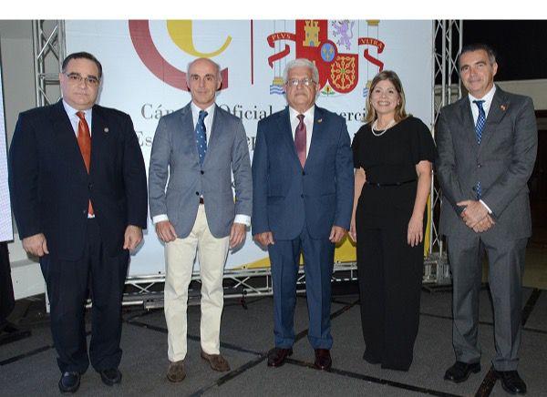 Marcos Cochón, Alejandro Abellán García de Diego, Angel Baliño, Ana Adela Vásquez y Juan Antonio García.