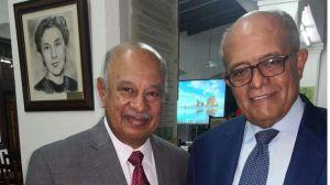 Los doctores Rafael Lantigua y José A. Silié Ruiz.