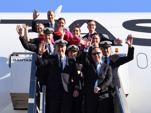 Qantas finaliza el ensayo del vuelo comercial más largo, de Nueva York a Sídney.