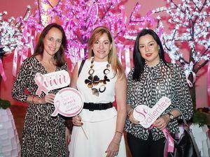 Georgia Reid de Piantini, Christie Pou de Piantini, Sandy Pou de Fernández.
