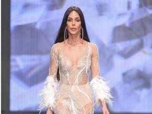 Modelo de la diseñadora Giannina Azar.