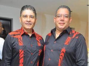 Bismarck Morales y Junior Jorge.
