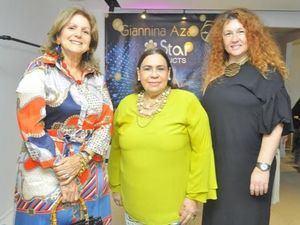 Ramona Vanderlinde, Mirna Pimentel y Tatiana Dulovic.