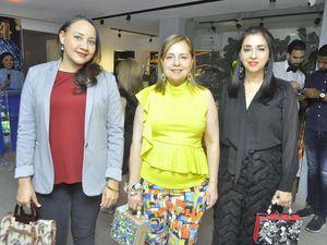 Keisin Herrera, Nancy Khoury y Soraya Khoury.