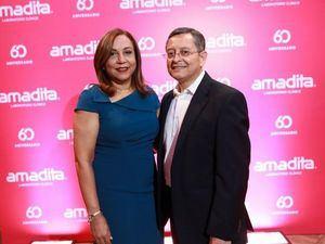 Dra. Fanny Vargas y Dr. Héctor Martinez.