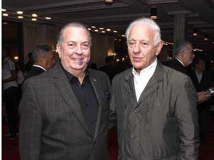 Eduardo Selman y Kalil Haché.