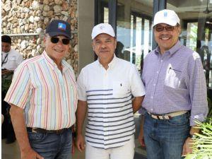 Frank Rainieri, Armando Cuello, Simon Suárez.