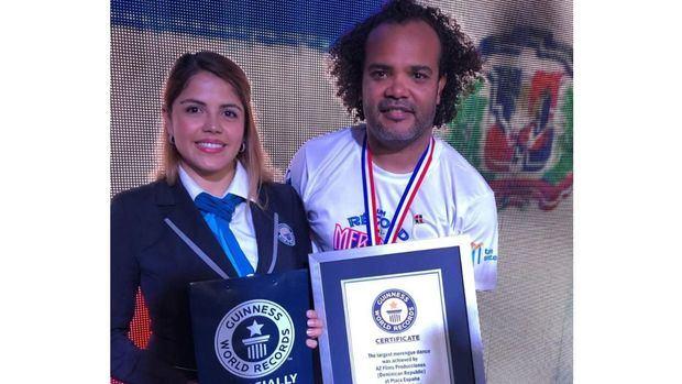 """La República Dominicana logró """"Un récord pal merengue"""""""