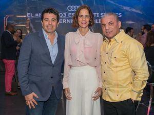 Juan Carlos Duque, Rocio Regalado y Jhonny Gómez.