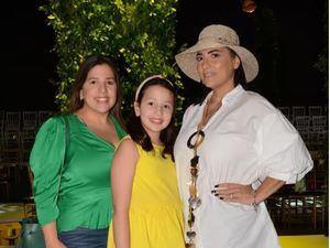 María Josefina Rodríguez, Camilla Meyreles y Carmen María Rodríguez.