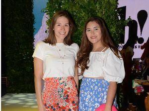 Monika Valverde y Mirka Mahuzier.