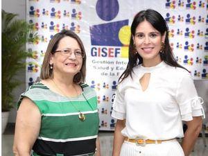 Carmen Rosa Fernández y Pamela Pichardo.
