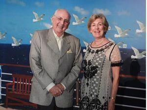 Gerardo Simón y Angelina de Simón.
