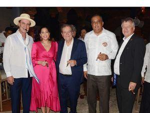 Litto Gómez, Nirka Reyes, Hendrick Kelner, Luis Lee Ballester y Urs Schnider.