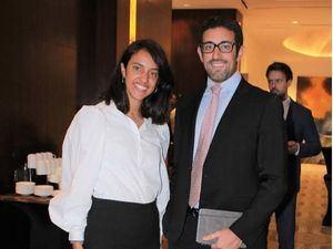 Alba Reyes y Alberto Viu.