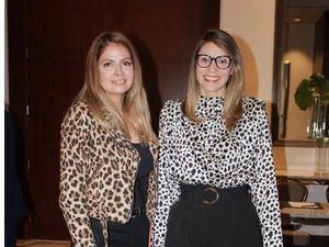 Carla Leal y Claudia Quell.