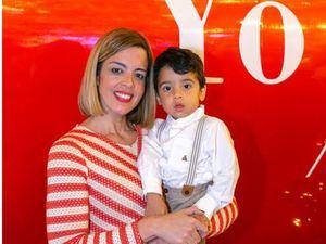 María Eugenia Torres y su hijo Mauricio Núñez.