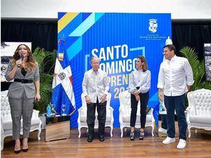 La Alcaldía del Distrito Nacional celebró ayer por tercera ocasión la conferencia  Santo Domingo Emprende.