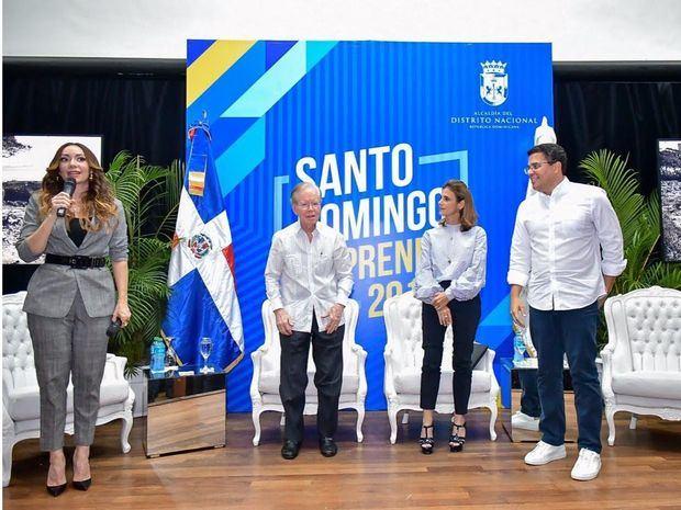 Los empresarios Corripio Estrada y Bonnetti hablan a los jóvenes emprendedores sobre alcanzar el éxito