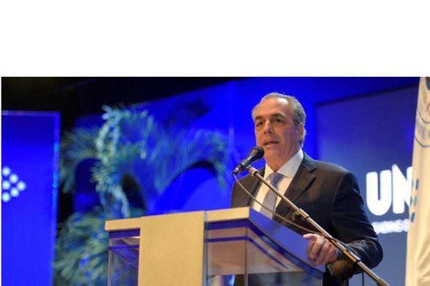 Ingeniero Abraham Hazoury, presidente del Consejo Regente de UNIBE.