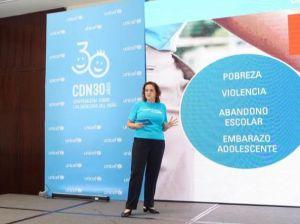 Rosa Elcarte durante su ponencia.