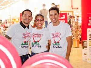 Randy Ramirez, Windily Lara y Reynolds Diaz.