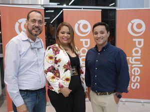 José Ocampo, Mery Fariña y Raymond Estrella.