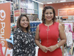 Ileana Hernández y Yenny Lovera.