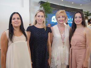 Deyanira Pappaterra, Ana García, Crismeidy Ureña y Susana Villanueva.