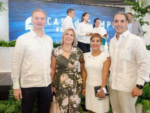 Jason Kycek, Sandra Cividanes, Kirsis Méndez y Ricardo Sencion.