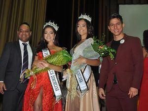 Nelson Reynoso, María Celeste Vargas, Miss Petite Noelis Reyes Miss Petite Teen y Joaquín Sánchez.