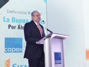 Miguel Lama, presidente del consejo directivo de CAPEX.