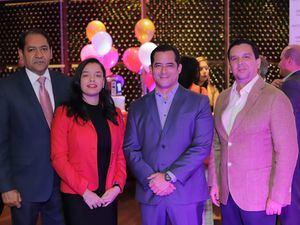 Fabricio Gómez, Laura Duquela, Jorge Montenegro y Edwing Rodríguez.