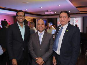 Francis Mariñes, Héctor Batista y Wilfredo Soto.