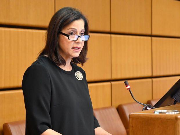Embajadora Lourdes Victoria - Kruse emociona audiencia en las Naciones Unidas de Viena