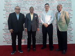 Alfonso Quiñonez Mayovanex Vargas, Fernando Báez y Freddy Javier.