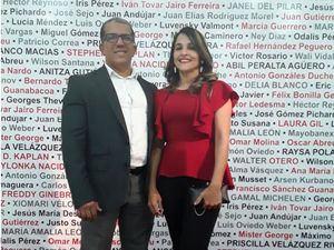 Manuel Mancebo y Alma Vásquez.