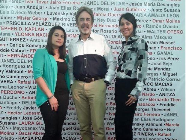 Alexandra Cornelio, Salvador Berges y Priscilla Velazquez Rivera.
