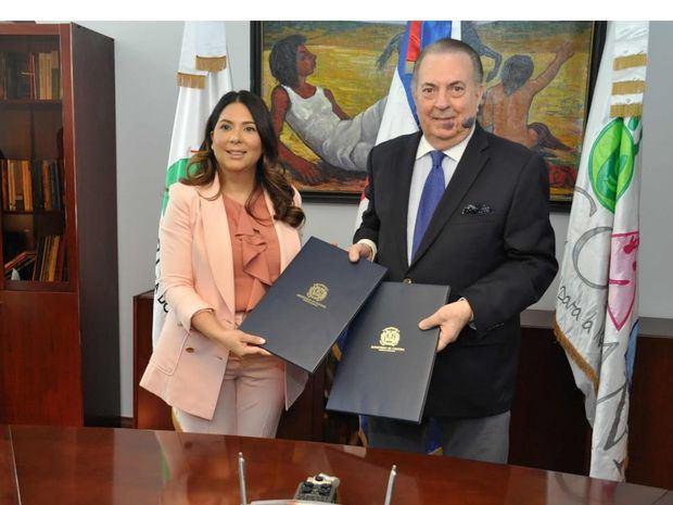 Ministerio de Cultura y CONANI firman acuerdo para realizar acciones culturales conjuntas