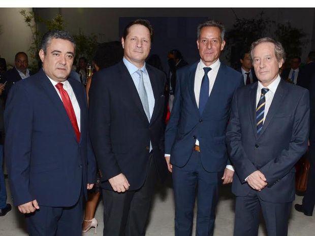 Gerardo García, Stéphane Hayot, Oliver Pellín y Didier Lopinot.