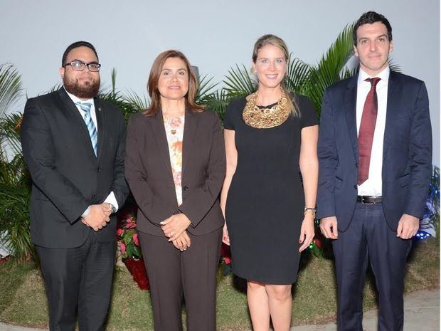 Rafael Guerrero, Elis Faña, Geraldine Rahn y Gervasio Guareschi.
