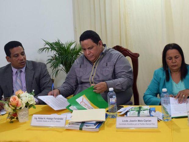 Participación Ciudadana y candidatos municipales firman Pacto por la Gobernabilidad democrática