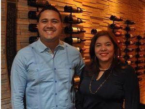 José Luis Bido y Miguelina Reyes.
