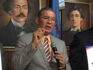 El presidente del Instituto Duartiano, Wilson Gómez Ramírez.