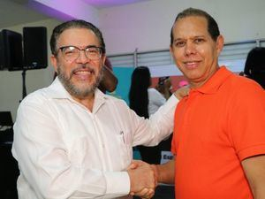 Domingo Matías candidato alcalde por la coalición en SDO.